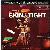 Skin Tight Space Age easy listening style record by Marty Gold and His Orchestra